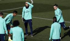 ريال مدريد يواصل استعداداته لمواجهة اشبيلية وانباء سارة