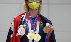ماكيون أول سباحة وثاني امرأة في التاريخ تحصد 7 ميداليات في دورة أولمبية