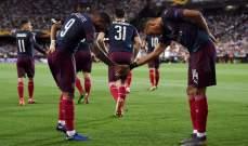 ارسنال يعمل على تحصين نجمه الفرنسي من اغراءات برشلونة