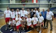 بطولة الدرجة الثالثة في الكرة الطائرة اللقب لنادي مشمش والفيدار الوصيف