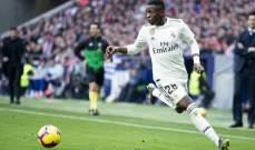 فينيسيوس: لم اتعاقد مع ريال مدريد من اجل خلافة كريستيانو رونالدو