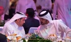الشيخ جوعان حضر حفل الاعلان عن تصميم استاد لوسيل
