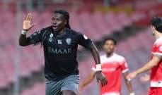 هدف غوميز في مرمى الوحدة الاجمل في الجولة 23 من الدوري السعودي