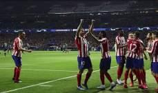 علامات واهداف لاعبي مباراة اتلتيكو مدريد - ليفربول