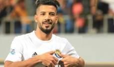 لاعب الزوراء علاء عباس الافضل في الجولة الثانية من دوري ابطال آسيا