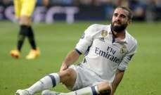 فترة غياب صادمة لـ كارفخال عن ريال مدريد