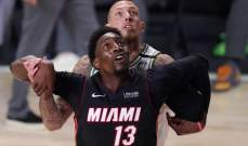 بام اديبايو نجم المباراة السادسة من سلسلة النهائي الشرقي في NBA