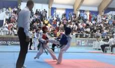 بطولة المدارس في التايكواندو : النتائج الكاملة للحزام الأزرق