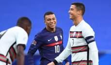 دوري الامم الاوروبية: التعادل يحسم قمة فرنسا والبرتغال وبولندا توقف انتصارات الاتزوري