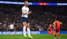 33 هدف لانكلترا واسبانيا اكثر من يستحوذ على الكرة في تصفيات يورو 2020