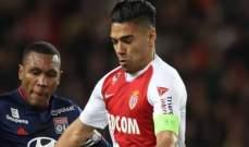 الليغ 1 : فالكاو يقود موناكو لتعادل مثير امام انجيه