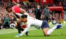 ليفربول ينجو من الخسارة ويكتفي بالتعادل امام مانشستر يونايتد