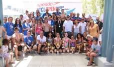 نتائج السباق الثاني المفتوح في السباحة لنادي السيارات والسياحة