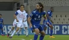 لقطة طريفة في احدى مباريات دوري ابطال آسيا