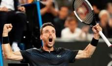 باوتيستا يتجاوز سيليتش الى الدور الربع نهائي من بطولة استراليا المفتوحة