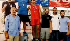 الشبيبة الشياح بطل لبنان في الكونغ فو-اسلوب الساندا
