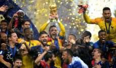 التشكيلة المثالية لكأس العالم 2018 في روسيا