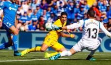 برشلونة يعود بفوز استراتيجي من مدريد بعد فوزه على خيتافي بثنائية