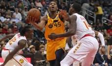NBA: كليبرز يسقط على ارضه وفوز جاز على هوكس