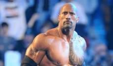 دواين جونسون يعلن عودته الى WWE