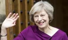 رئيسة وزراء بريطانيا فخورة بانجاز الفرق الانكليزية