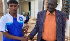 مقتل لاعب سوداني بعد تعرضه لحادث سير