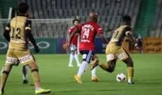 طلائع الجيش يسقط مجددا في الدوري المصري لكرة القدم
