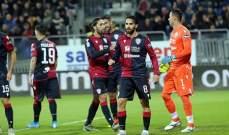 الدوري الإيطالي: فوز قاتل لكالياري على سامبدوريا في مباراة مجنونة