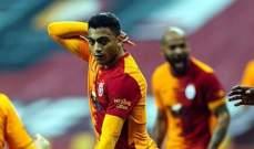 الدوري التركي: غلطة سراي يستفيد ن تالق مصطفى محمد ويحقق فوزا جديدا