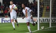 روما يعود من الاراضي التركية بفوز عريض وتعادل اسبانيول وفوز مونشنغلادباخ