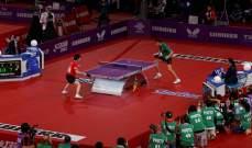 اقامة بطولة العالم لكرة الطاولة الى الصين
