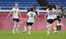 طوكيو 2020 - كرة قدم: سيدات أميركا والسويد إلى نصف النهائي
