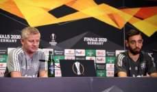 سولسكاير: برونو ليس منهكاً وإذا سألته لن يقول أبداً انه يشعر بالتعب