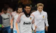 فالنسيا يفقد خدمات قائده امام برشلونة