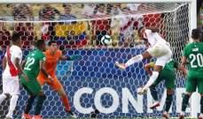 علامات لاعبي مباراة بوليفيا - بيرو