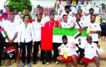 منتخب الامارات لكرة القدم الشاطئية يتوج بالبرونزية في الألعاب الآسيوية