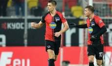 هيرتا برلين يقلب تأخره أمام دوسلدورف إلى تعادل مثير بمباراة مجنونة
