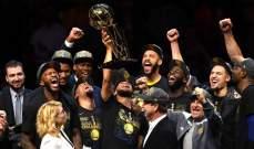 NBA : غولدن ستايت يفوز بالمباراة الرابعة وباللقب
