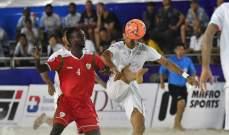 تصريحات مدربي عمان وايران بعد لقائهما في بطولة اسيا للكرة الشاطئية