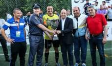 قوى الامن تحرز لقب كاس لبنان للميني فوتبول