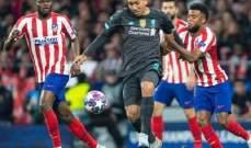 عقوبة من يويفا بحق ليفربول وأتلتيكو مدريد بسبب دوري الأبطال