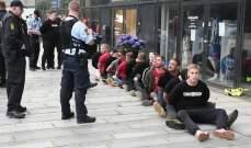 اشكال بين الشرطة والمشجعين في الدنمارك