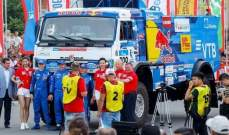 تهنئة من بوتين لكاماز ماستر على انجاز رالي طريق الحرير للشاحنات