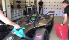 فيليبي ماسا يبدأ تجاربه على سيارة الفورمولا إي