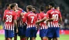 الليغا:اتلتيكو مدريد يتقدم في الترتيب بعد الفوز على هويسكا