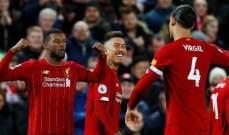 ليفربول الاكثر تسجيلا بالرأس في الدوري الانكليزي