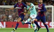 برشلونة يسعى لمبادلة راكيتيتش بنجم خط وسط الانتر