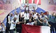 الشرطة القطري بطلا للاندية الخليجية للكرة الطائرة