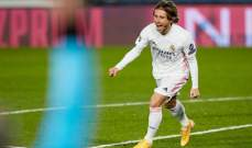 مودريتش يقترب من تمديد عقده مع ريال مدريد