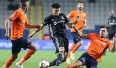 باشاك شهير يفوز عل بشكتاش ويبتعد في صدارة الدوري التركي